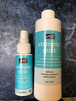 Stampin Up Stampin Mist 60ml bottle with sprayer Plus 250ml Refill Unopened