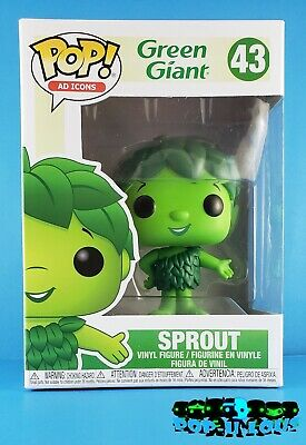 Funko Pop Ad Icons Green Giant #43 Sprout Vinyl Figure