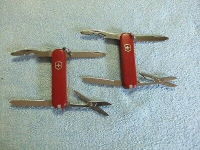 Victorinox Swiss Army Rambler Model Duo - 58mm Knife with Combo Tool and More