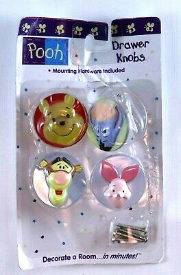 Drawer Knobs Handles Decorative Winnie Pooh Tigger Cute Baby Room Home Decor