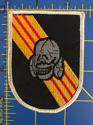 United States US Army Special Forces Group SFG Airborne Skull Patch Green Berets