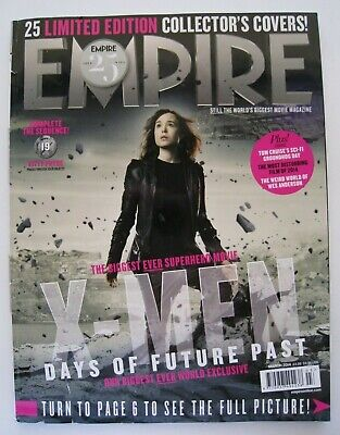 X-Men: DoFP Ellen Page / Kitty Pryde - Empire March 2014 Collector Cover