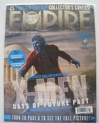X-Men: Days of Future Past  Nick Hoult / Beast - Empire March 2014 Collector Cvr