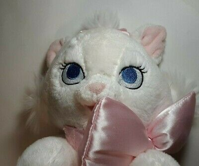 Disney Parks Babies Baby Marie Stuffed Plush with Blanket White Cat Aristocats
