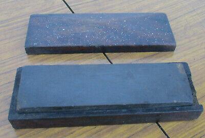 Very Old Vintage Sharpening Stone, In Original Case.  Good Condition