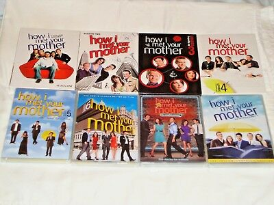How I Met Your Mother Seasons 1-8, 1 2 3 4 5 6 7 8, DVD, Jason Segel, New/Sealed