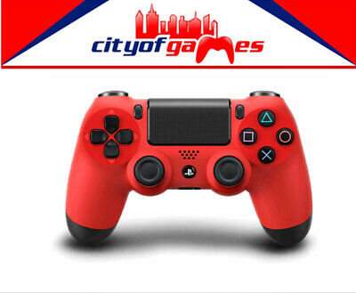 Genuine PS4 DualShock 4 Red Wireless Controller Brand New In Stock