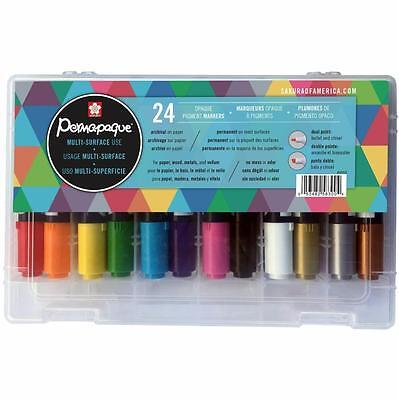 Sakura Permapaque Doppi Multi Superfici Opaco Pennarello Regalo Set - 24pz 58300