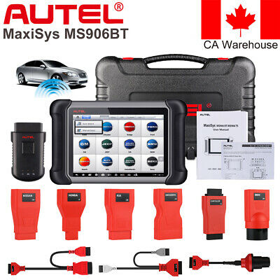 Autel MaxiSys MS906BT OBD2 Auto Diagnostic Tool Scanner Better MS906 CA Stocks