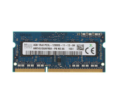 For SK Hynix 4GB DDR3L 1RX8  1600MHz PC3L-12800S 204PIN SODIMM Laptop RAM Memory