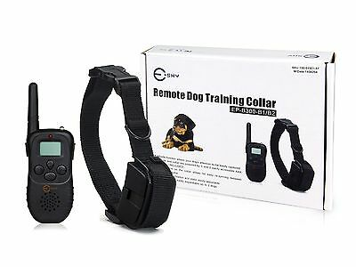 Rechargeable Remote Control Pet Dog Training Collar 100 Level Vibration antiBark