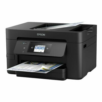 Epson Workforce Pro Wf-3720Dwf Stampante Multifunzione Ink-Jet A Colori St Black