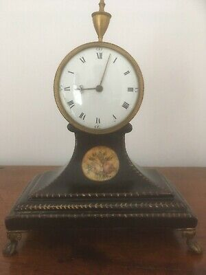 Superb late 18th century (?) miniature clock by Philip James of London