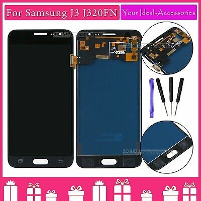 For Samsung Galaxy J3 2016 SM-J320FN LCD Touch Screen Display Replacement Black