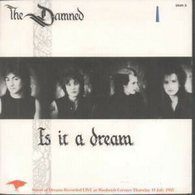 "DAMNED (PUNK) Is It A Dream 7"" VINYL Wild West End Mix B/w Street Of Dreams Li"