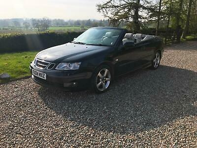 Saab 9-3 1.8t Vector,2 litre petrol convertible,full leather