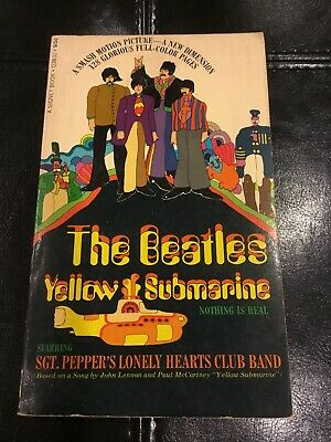 The Beatles Yellow Submarine Paperback First Printing 1968