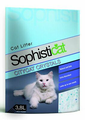 Sanicat Professional Diamond Litter 3.8ltr Cat Litter Damaged 7.4KG