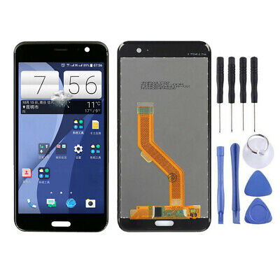 "Per Htc U11 5.5"" Lcd Pannello Touch Screen Schermo Digitizer Assembly Nero Rl002"