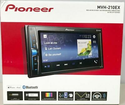 "Pioneer MVH-210EX-6.2"" Display Digital Multimedia Receiver/Bluetooth BRAND NEW!"