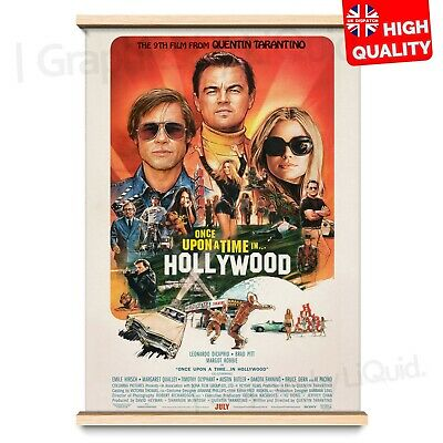 Once Upon A Time in Hollywood Quentin Tarantino 4th Movie Poster | A4 A3 A2 A1 |