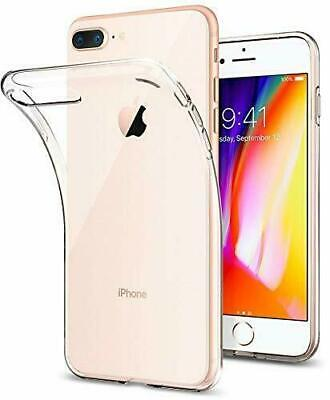 For Apple iPhone 7 PLUS Transparent Clear Gel Rubber TPU Soft Back Case Cover