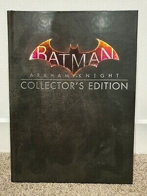 Batman Arkham Knight Collector's Edition Strategy Guide