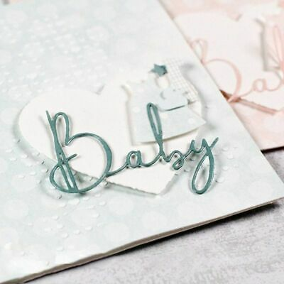 Baby Metal Cutting Dies Stencil DIY Album Stamp Paper Card Embossing Craft Decor