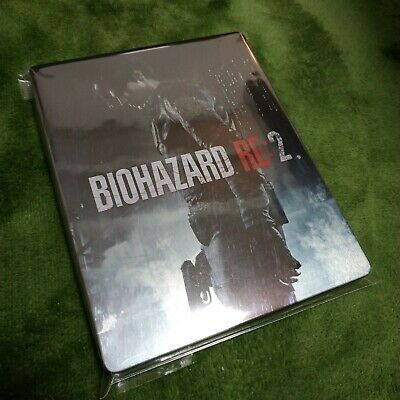 Resident Evil 2 Biohazard RE:2 Steelbook steel case Japan Exclusive NEW