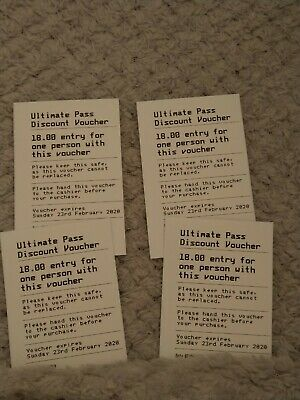 Drayton Manor Vouchers X4