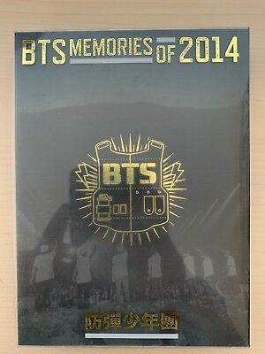 BTS MEMORIES OF 2014 Korea Edition DVD Limited RARE