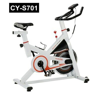 Bicycle Cycling Fitness Exercise Stationary Bike Cardio Home Indoor Load 40LB MX
