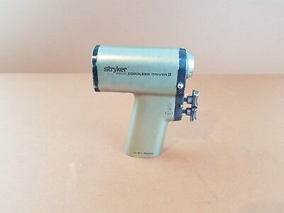 Surgical Drill Stryker 4200 Cordless Driver 2 Handpiece Medical Drill Stryker