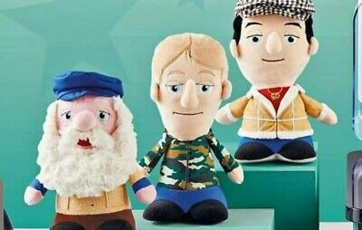 Only Fools And Horses Plush Talking Figures Del Rodney Uncle Albert