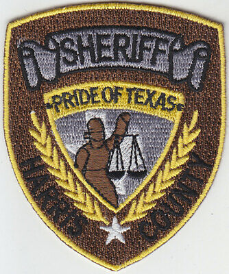 TEXAS POLICE & SHERIFF HAT PATCH COLLECTION 8 Patches ITALY AUSTIN
