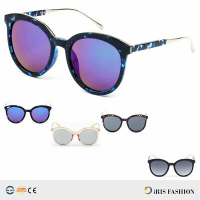 ece1bb64f NEW Fashion Men Women's Round Sunglasses Vintage Retro OVERSIZED Mirror  Glasses
