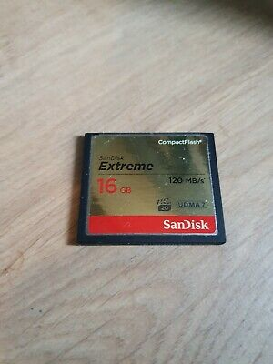 Sandisk Extreme 16gb Compact Flash Card