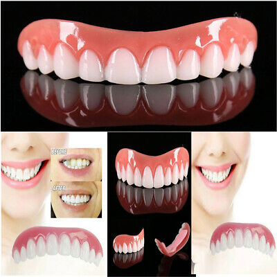 Instant Perfect Smile Teeth Cosmetic Veneers Comfort Covers Snap On Fix One Size