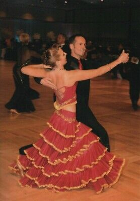 8a7aec1ce PREOWNED BALLROOM DANCE competition dress - $199.00   PicClick