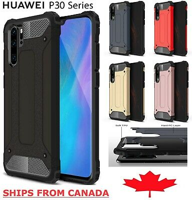 For Huawei P30 / Pro Lite Shockproof Heavy Duty Armour Tough Hard Cover Case