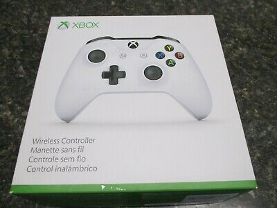 Genuine Microsoft Xbox One Wireless Controller with 3.5mm Connector White 1708
