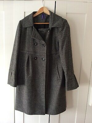 Seraphine Maternity Wool  Blend Jacket Mac Coat Size 12