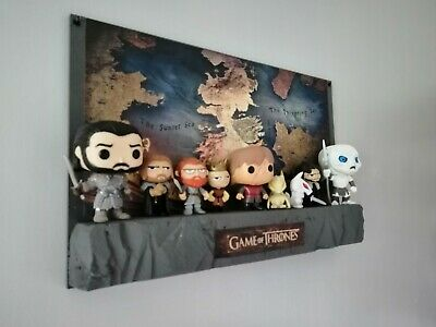 Game Of Thrones Funko Pops. Wall Display. Got Pop Vinyl. Mystery Minis.