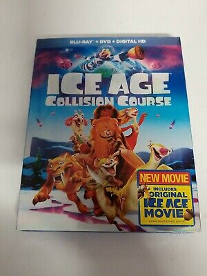 Ice Age 5: Collision Course [Blu-ray] DVD, ,