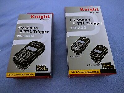 TR-332 for Canon E-TTL II Flash Trigger with 2 Receivers