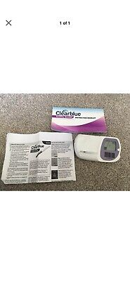 clearblue ovulation monitor