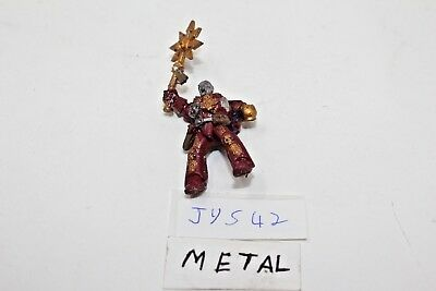 Warhammer Chaos Space Marines Biker Rider Only Metal Incomplete - JYS42
