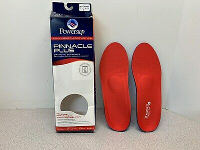f093980c3a Powerstep Pinnacle Plus Full Length Orthotic Shoe Insoles Size E - Open Pkg  (4)
