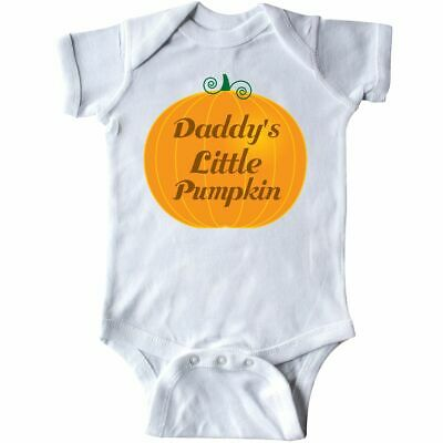 Inktastic Halloween Daddy Little Pumpkin Infant Creeper Holiday Apparel Childs