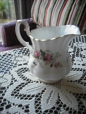 Vintage Royal Albert Cream Jug - Lavender Rose Pattern  Vgc